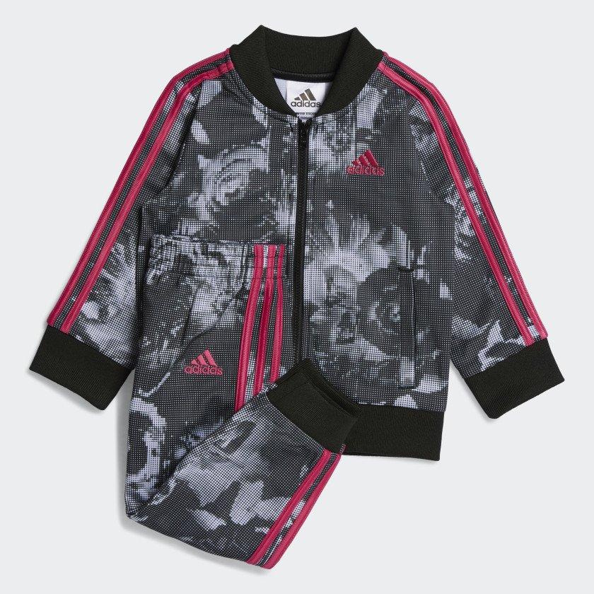 Adidas Baby girl DIGITAL FLORAL JACKET SET - Locolow f128830d0