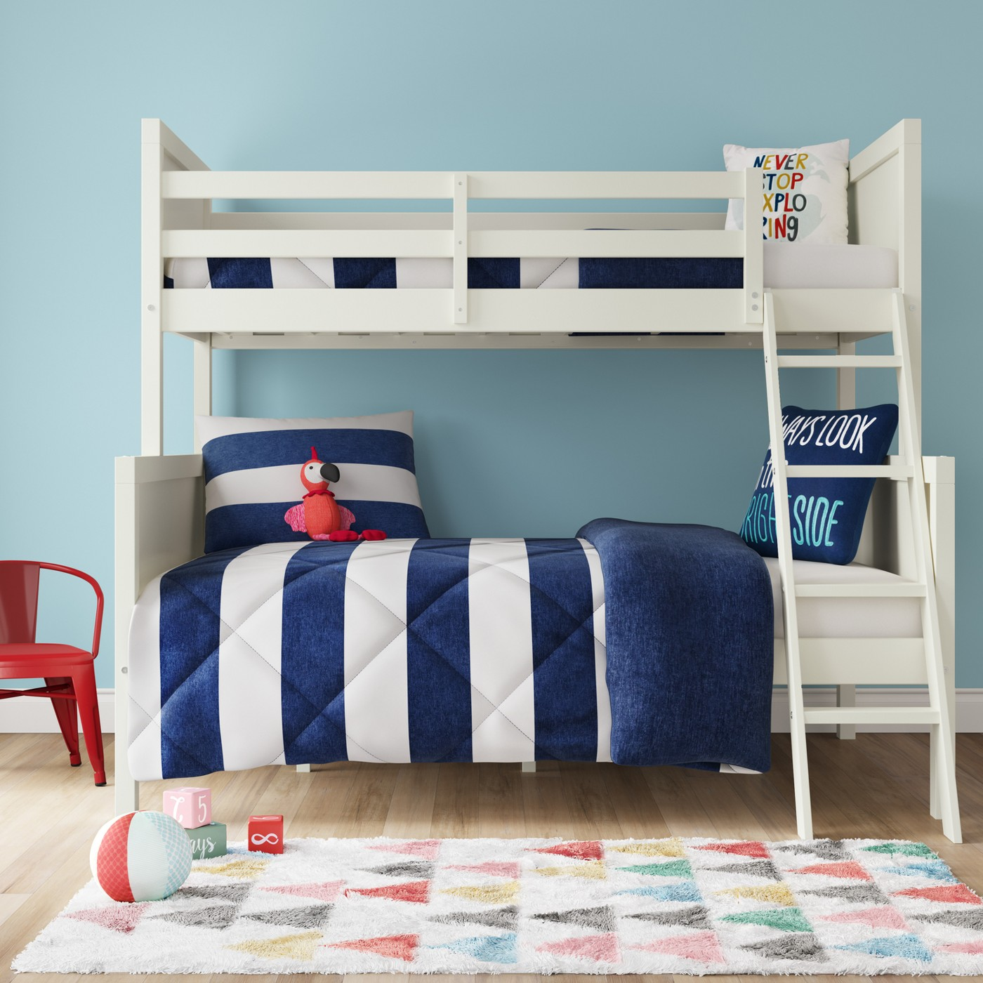 Osa Kids Bunk Bed Twin Over Full Pillowfort Locolow