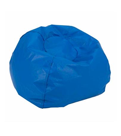 Strange Sprogs Spg 610 078 So Round Bean Bag Chair Blue Locolow Theyellowbook Wood Chair Design Ideas Theyellowbookinfo